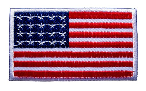 United-States-of-America-USA-Flag-Sew-on-Patch-Free-Shipping