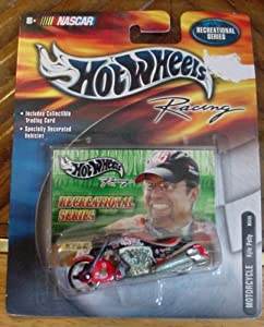 Hot Wheels Racing Recreational Series Kyle Petty Motorcycle #45 NASCAR