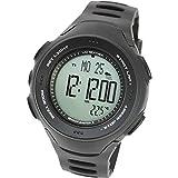 [ラドウェザー] トリプルセンサー 腕時計 アメリカ製センサー 高度計/気圧計/温度計/天気予測 アウトドア デジタルコンパス 登山 スポーツ腕時計