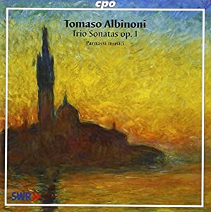 Albinoni: Trio Sonatas, Op 1 /Parnassi Musici