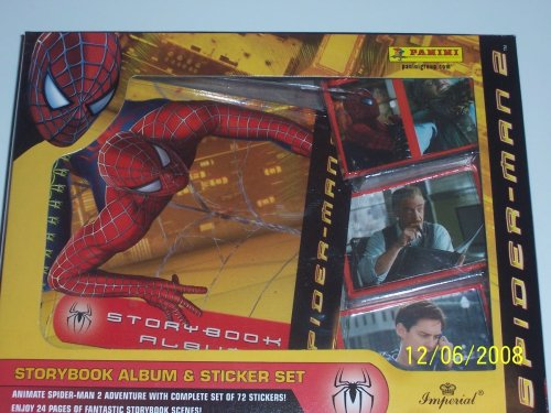 Spider-Man 2 Storybook Album & Sticker Set - 1