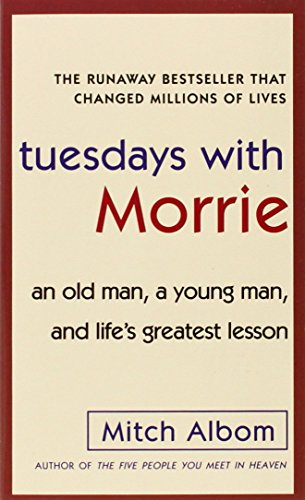 lifes greatest lesson in tuesdays with morrie Tuesdays with morrie an old man, a young man, and life's greatest lesson has 3 reviews and 3 ratings reviewer wobblepenguin12 wrote: this book is sodeep and sentimentaland how someone couldnt shed a tear for such a book i have no ideaa professor named morrie who is diagnosed with als has a student from years ago who used to be close to him in his classhe taught about life an.