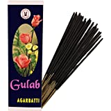 PRS GULAB Incense Stick (Pack Of 5 Agarbatti) 75gm Each