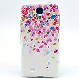 JIAXIUFEN TPU Coque - pour Samsung Galaxy S4 Mini Silicone Étui Housse Protecteur (NON compatible avec S4)-Style01