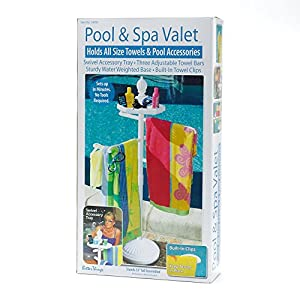 Amazon Com White Outdoor Towel Holder Pool Spa Valet Usa