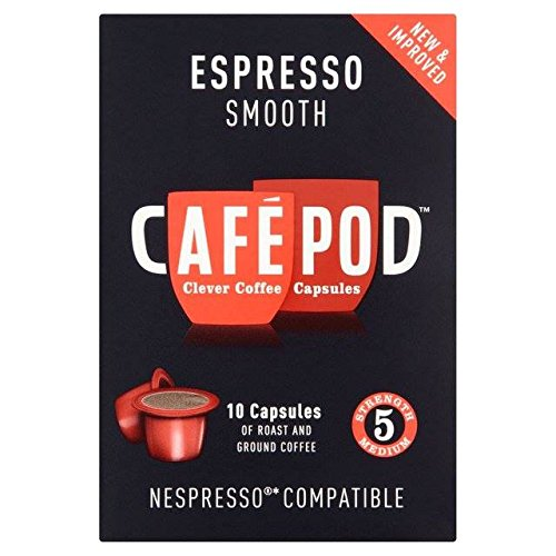 Choose CafePod Nespresso Compatible Smooth Capsules 10 per pack by CaféPod