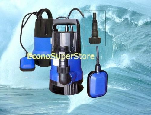 1/2 Hp Auto Shut Off Submersible Pool Water Drain Pump