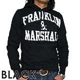 Franklin & Marshall フランクリン アンド マーシャル ロゴ フーディー パーカー ブラック