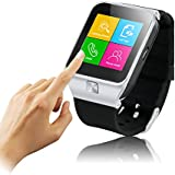 Excelvan 3-in-1 Touch Screen Unlocked Watch Cell Phones + Pedometer + Bluetooth Smart Watches For All Android OS Phones and iPhone 6 6+ (Part Function)