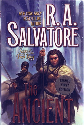 Signed-First-Edition-RA-Salvatores-The-Ancient-Saga-of-the-First-King-SIGNED-BY-AUTHOR