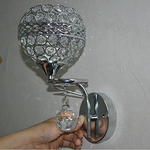 Applique in cristallo a contemporaneo minimalista arte creativa Super flash luce letto camera da letto soggiorno abbigliamento negozio 120 (mm)