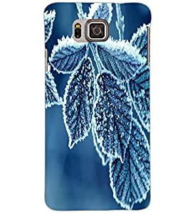 SAMSUNG GALAXY ALPHA LEAFES Back Cover by PRINTSWAG