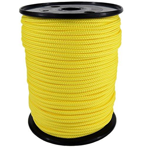 corde-cordage-pp-2mm-100m-jaune-1132-tresse-polypropylene