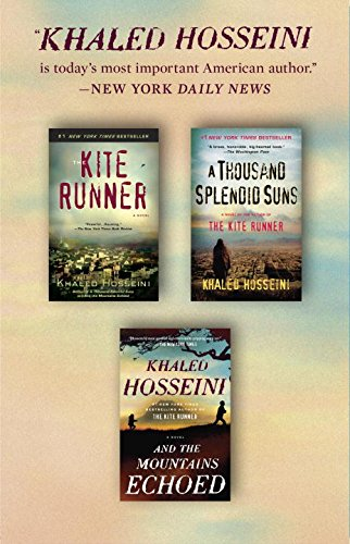 Khaled Hosseini 3 Books Box Set