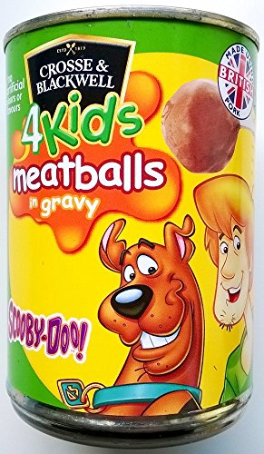 Cross & Blackwell pour enfants Scooby Doo Boulettes de viande en sauce 3 x 370gm