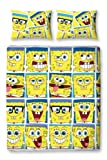 Character World SpongeBob Squarepants Framed Double Rotary Duvet Set, Multi-Color