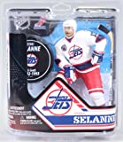 McFarlane's Sports Picks NHL Hockey 6 Inch Action Figure Series 32 - Teemu Selanne White Jersey Exclusive (Winnipeg Jets) at Amazon.com