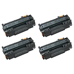 Amsahr EP87DR HP 7429A005AA, MF8170, c8180c Remanufactured Replacement Toner Drums with Four Drums