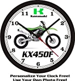 2013 Kawasaki KX450F WALL CLOCK-FREE USA SHIP!
