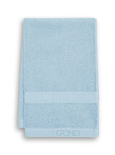 GUND Bear Essential Ringspun Hand Towel, Peek A Blue, 16'' By 26''