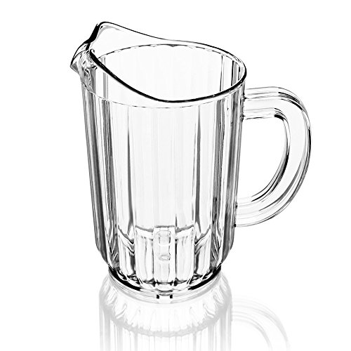 New Star 46106 Polycarbonate Plastic Restaurant Water Pitcher, 60-Ounce, Clear (Pitchers Of Beer compare prices)