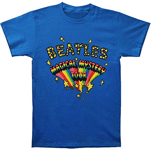 The Beatles Magical Mystery Tour Royal Blue t-shirt(Small)