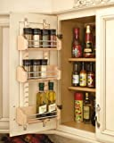 Rev-A-Shelf Rev-A-Shelf Adjustable Door Mount Spice Rack