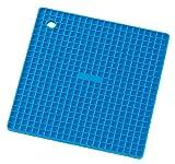 K-ai シリコン鍋敷きグリッド ブルー 018802