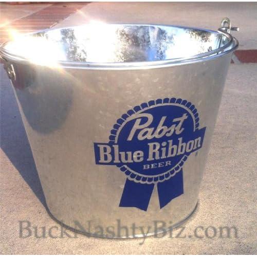 Amazon.com: Pabst Blue Ribbon Galvanized Tin Metal Beer