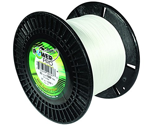 Power Pro 21100500500W Braided Spectra Fiber Fishing Line, 50 lb/500 yd, White (Power Pro 50 compare prices)