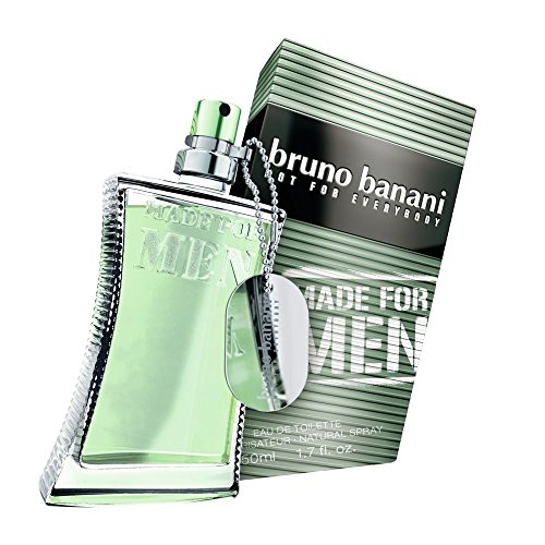 Bruno Banani Made for Men Eau de Toilette, Uomo, 50 ml