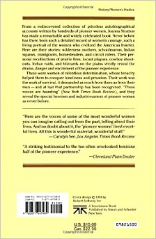 Pioneer Women: Voices from the Kansas FrontierPaperback– September
