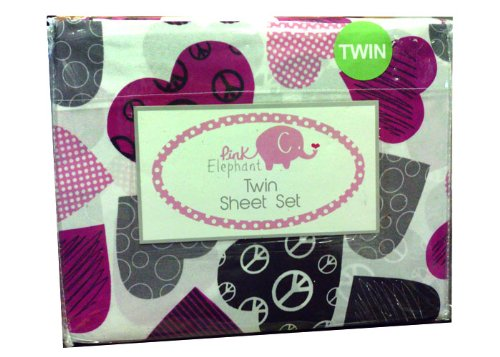 Elephant Twin Bedding 9973 front
