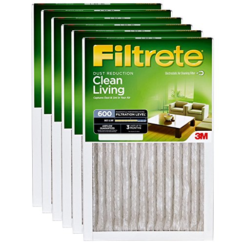 Filtrete 14x25x1 MERV 8 Dust Reduction Filter 6-PK