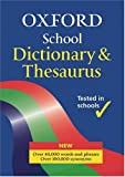 Oxford School Dictionary and Thesaurus (0199112320) by Allen, Robert