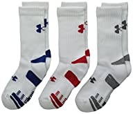 Under Armour Boys HeatGear Crew Socks…