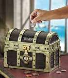 Automatic Counting Pirate's Treasure Chest Bank Toy By Collections Etc