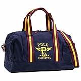 (ポロラルフローレン)POLO RALPH LAUREN ダッフル ボストンバッグ GYM DUFFEL ロゴ入り2WAYキャンバスダッフル ショルダーバッグ スポーツバッグ(ネイビー) 950122A/NAVY [並行輸入品]