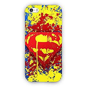 EYP Superheroes Superman Back Cover Case for Apple iPhone 5
