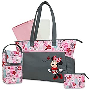 disney minnie mouse 5 in 1 diaper bag baby. Black Bedroom Furniture Sets. Home Design Ideas