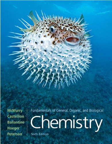 Fundamentals of General, Organic, and Biological Chemistry (6th Edition) PDF