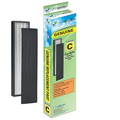 GermGuardian FLT5000 GENUINE True HEPA Replacement Filter C for AC5000 Series Air Purifiers (Air Filters Purifiers compare prices)