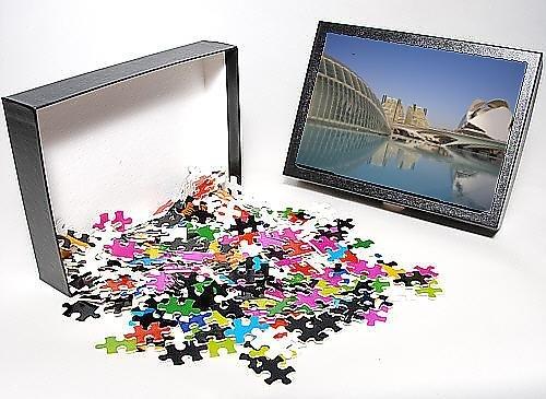 Photo Jigsaw Puzzle Of L Hemisferic And El Palau De Les Arts Reina Sofia (Reina Sofia Arts Palace)