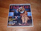 img - for Parade magazine, February 13, 2011-actor Matthew Perry,