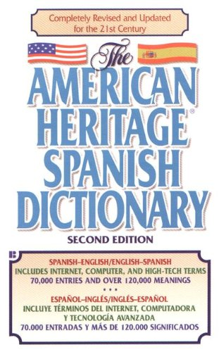 The American Heritage Spanish Dictionary (Turtleback School & Library Binding Edition)