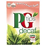 PG tips Decaf 160s PyramidTeabags 4 x 500g (Total 640 Teabags)
