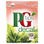 PG tips Decaf 160s PyramidTeabags 4 x...