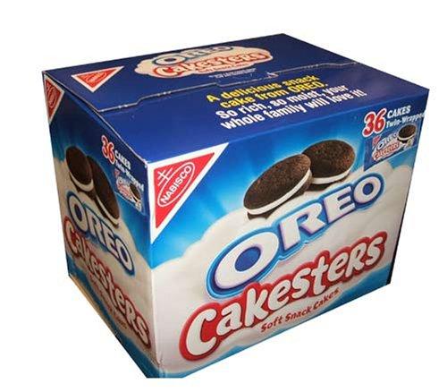 Oreo Cakesters Soft Snack Cakes, Original, (18-2 Cake Packages) (Gourmet,Oreo,Gourmet Food,Desserts,Cakes & Pastries)