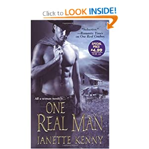 One Real Man (Zebra Historical Romance) Janette Kenny