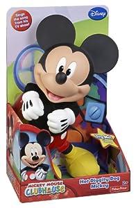 Mickey Mouse Club House - Figura de Mickey con sonido de 30 cm (Mattel BLN28) - BebeHogar.com